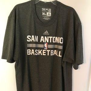 NBA Adidas San Antonio Spurs Practice Shirt